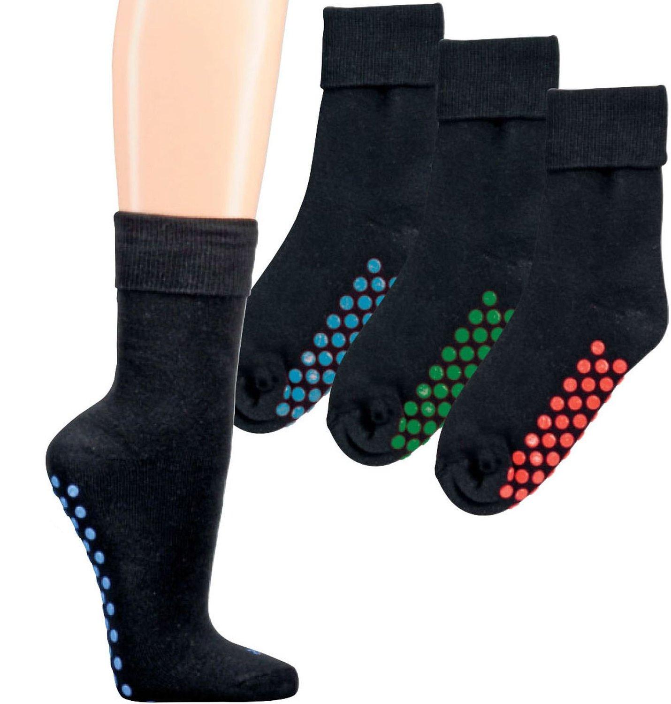 2 Paar Homesocks / ABS-Socken / Stopper Socken mit Größenkennzeichnung