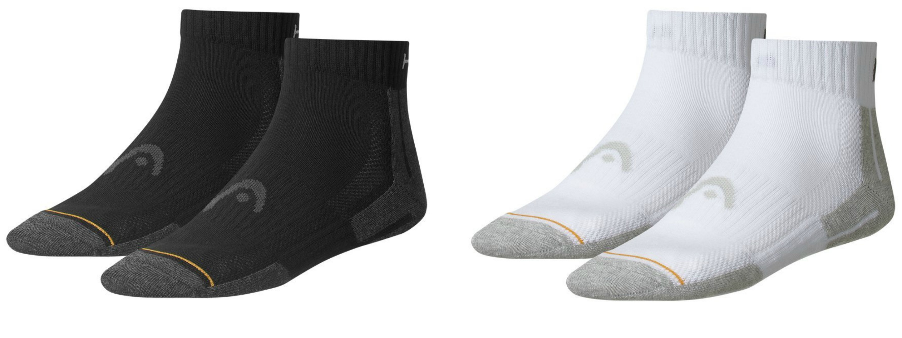 4 Paar Head Performance Quarter Socken