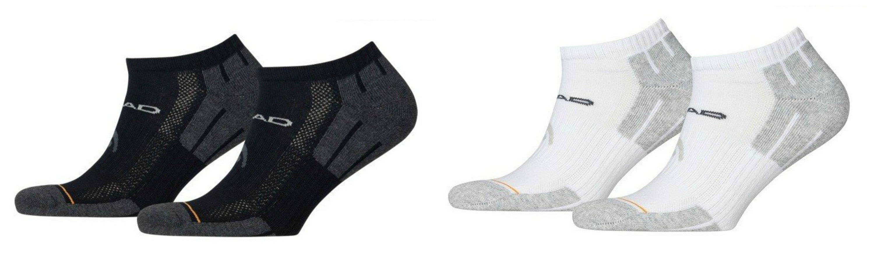 4 Paar Head Performance Sneaker Socken
