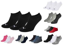 6 Paar Puma Sneakersocken (Kurzsocken), verschiedene Farben