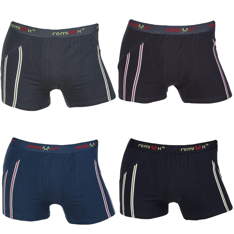 4 modische Boxershorts, freie Größewahl, MBOX070